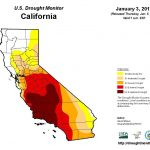 Is The Drought Over? | Sean Scully | Napavalleyregister   California Drought Map