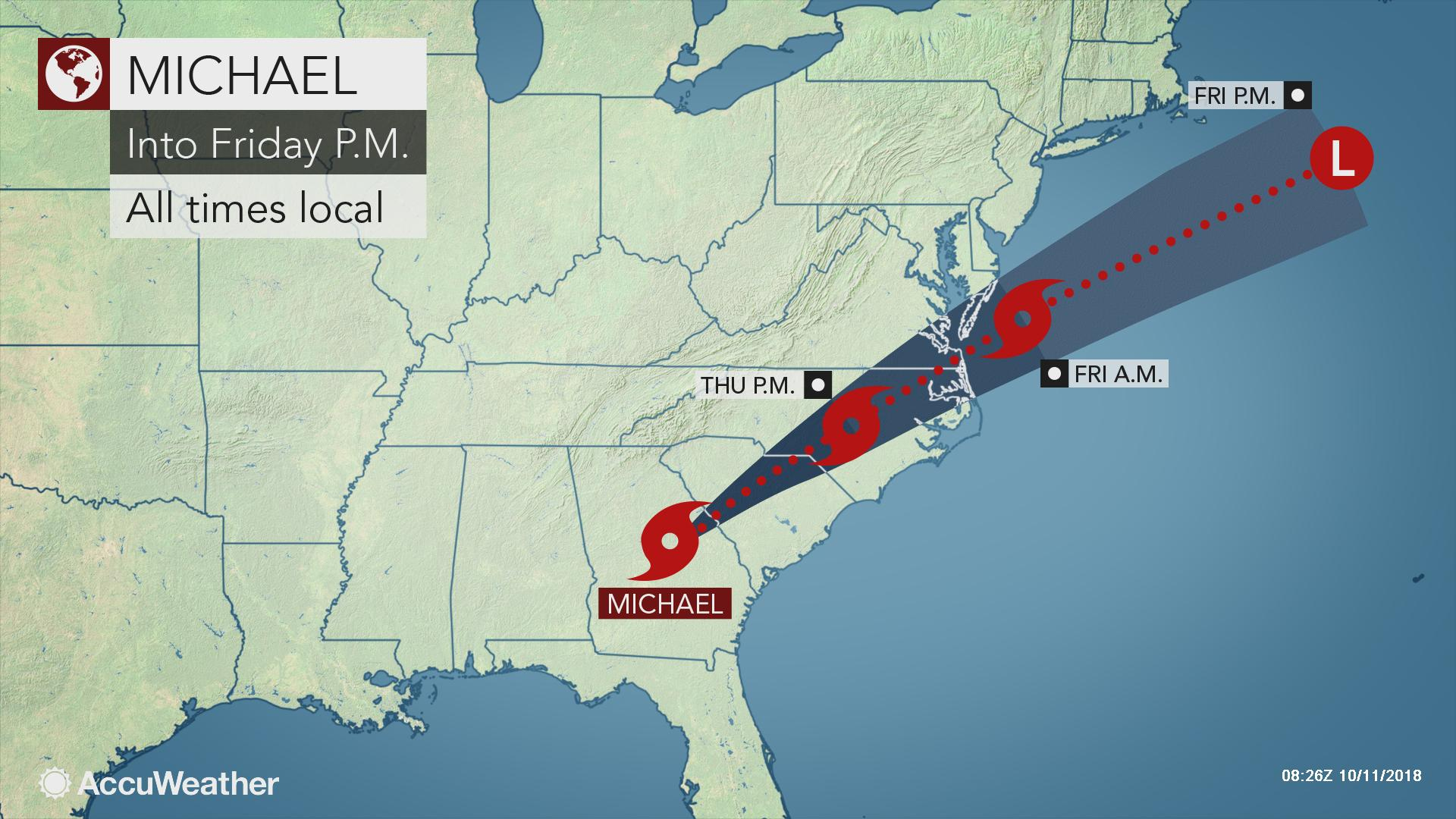 It Will Look Like A Bomb Or Tsunami Hit The Area' Where Category 4 - Florida State Weather Map