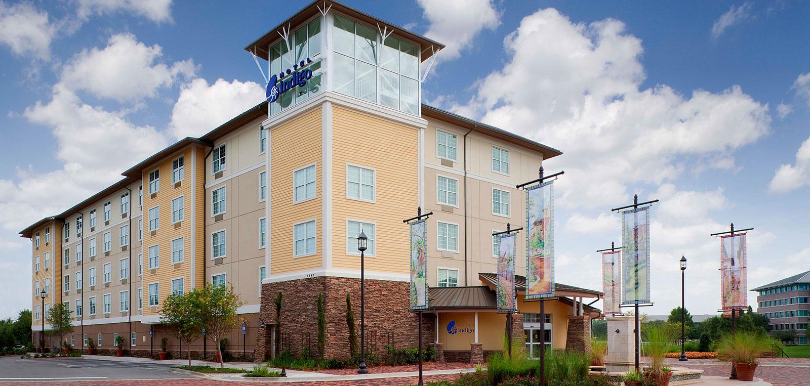 Jacksonville, Fl Hotel - Hotel Indigo Deerwood Park - Map Of Hotels In Jacksonville Florida