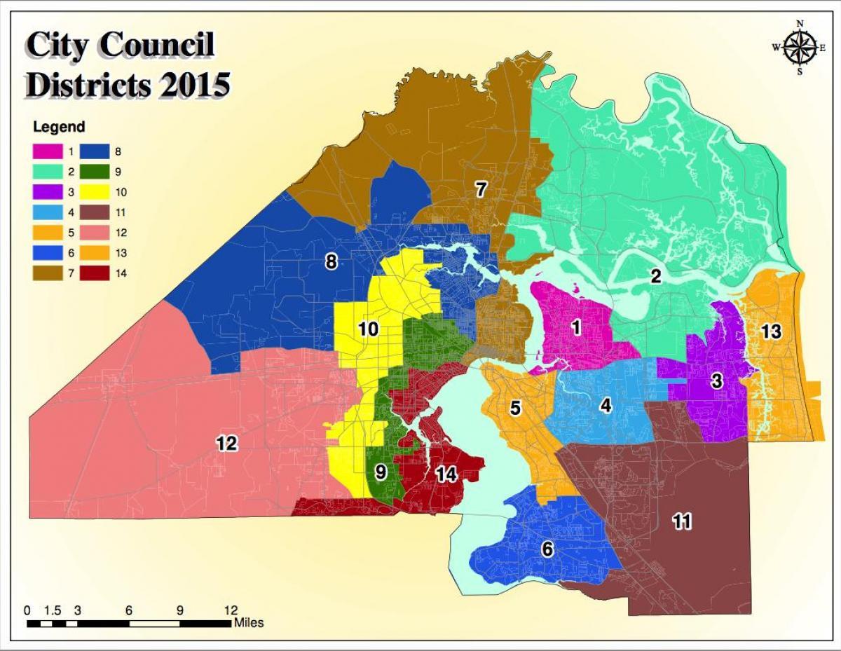 Jacksonville Fl Zoning Map - Jacksonville Zoning Map (Florida - Usa) - Florida Land Use Map