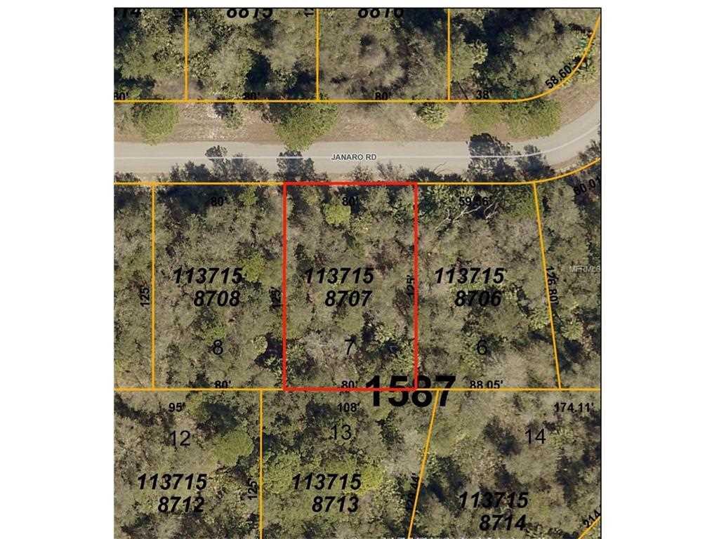 Janaro Road34288 - North Portnorth Portnot In Flood Zone -Single - North Port Florida Flood Zone Map