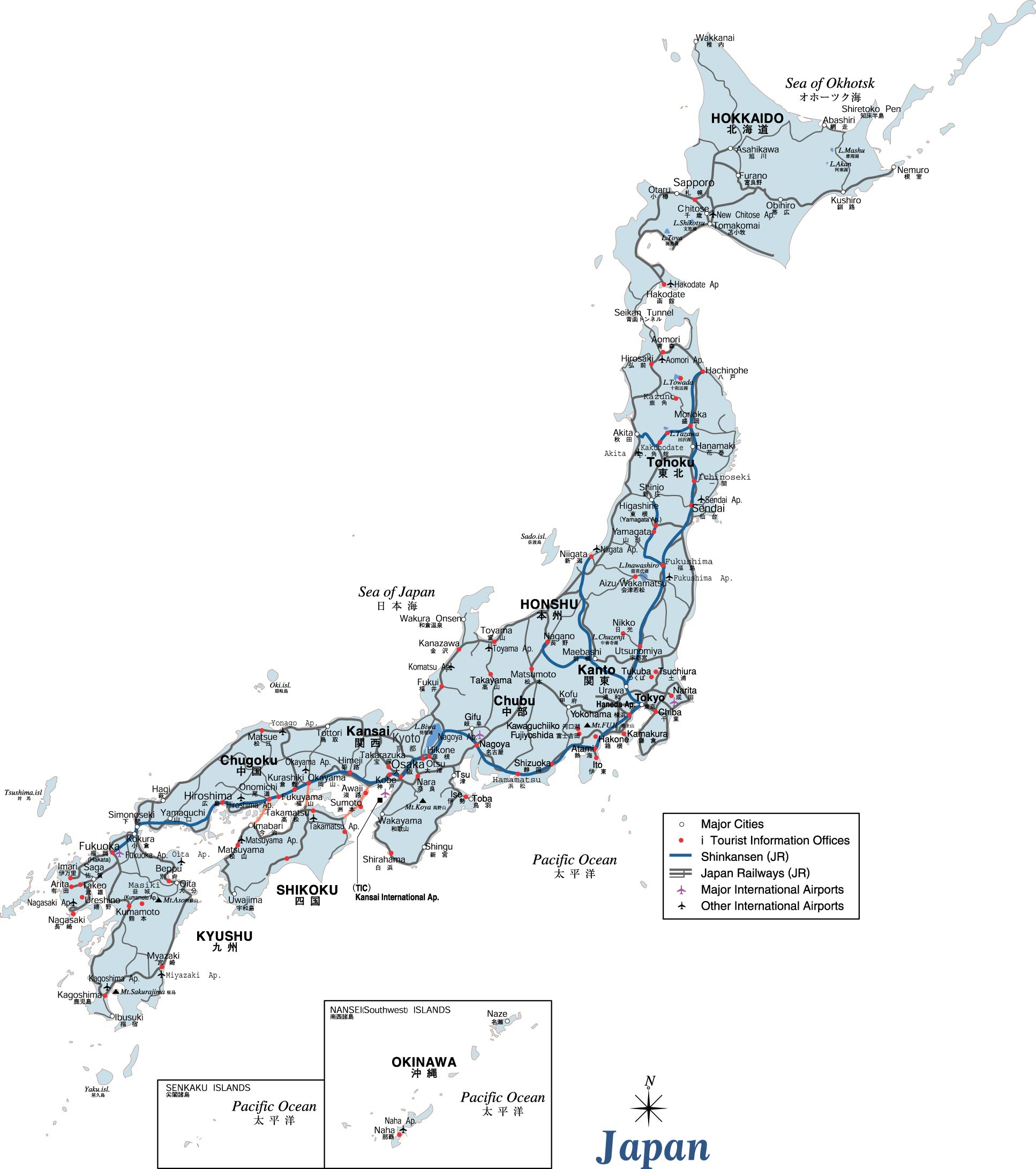 Japan Maps | Printable Maps Of Japan For Download - Large Printable Map Of Japan