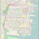 Jersey City Downtown Map   Printable Street Map Of Jersey City Nj
