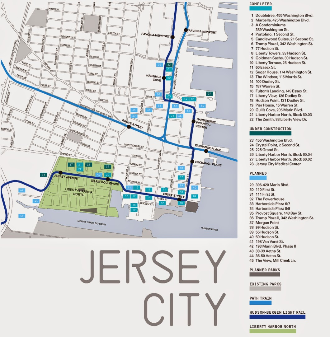 Jersey City Map - Free Printable Maps - Printable Street Map Of Jersey City Nj