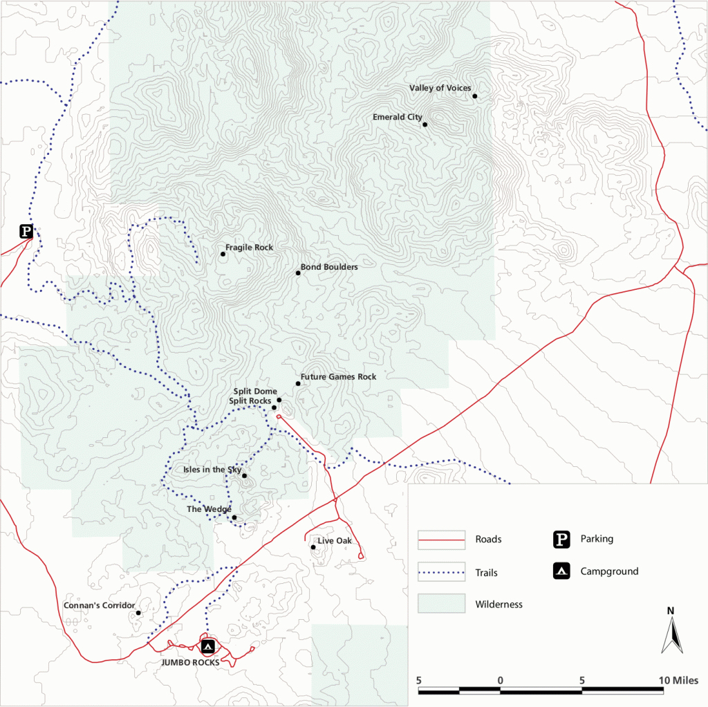 Joshua Tree California Map - Klipy - Joshua Tree California Map