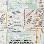 Judgmental Maps — Delray Beach, Flel Jefe Copr. 2015 El Jefe.   Del Ray Florida Map