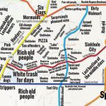 Judgmental Maps — Spring Hill, Flspring Hill Courier Copr. 2014   Map Showing Spring Hill Florida