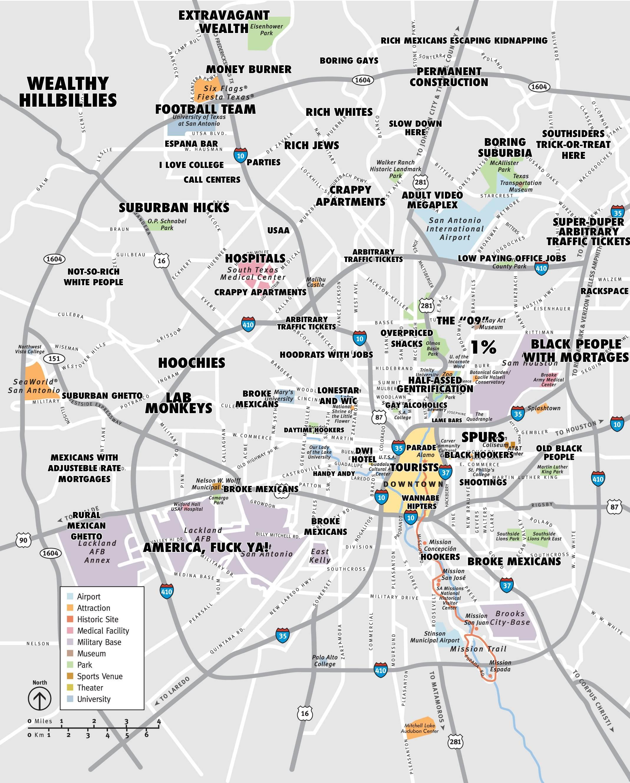 Jugement La Carte De San Antonio De Porter Un Jugement La Carte De - Porter Texas Map