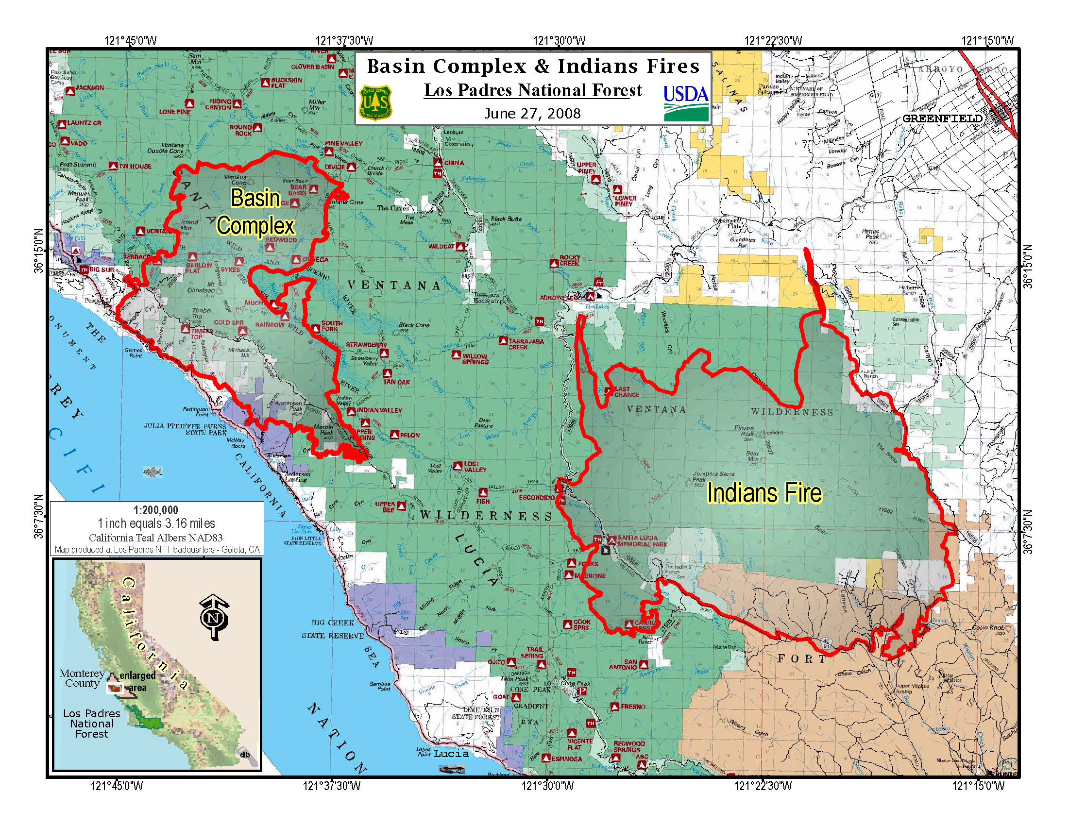 June Fire Map Labeled Map With Map Of Fires In California Today - Where Are The Fires In California On A Map