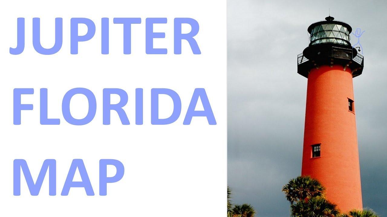 Jupiter, Florida Real Estate Map - Youtube - Google Maps Jupiter Florida