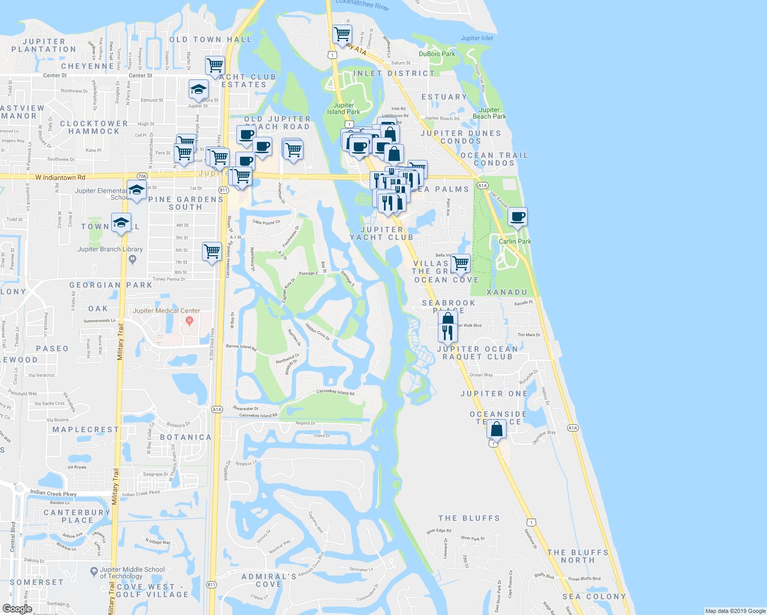Jupiter Island Florida Map | Www.picsbud - Jupiter Island Florida Map