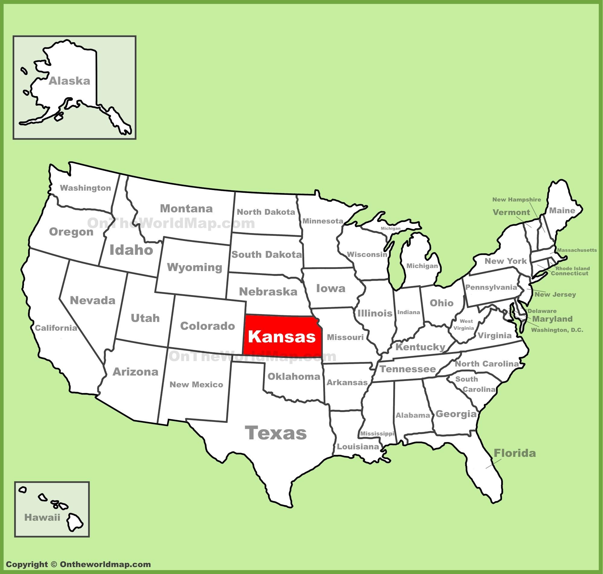 Kansas State Maps | Usa | Maps Of Kansas (Ks) - Printable Map Of Kansas