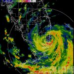 Katrina   South Florida Weather Map