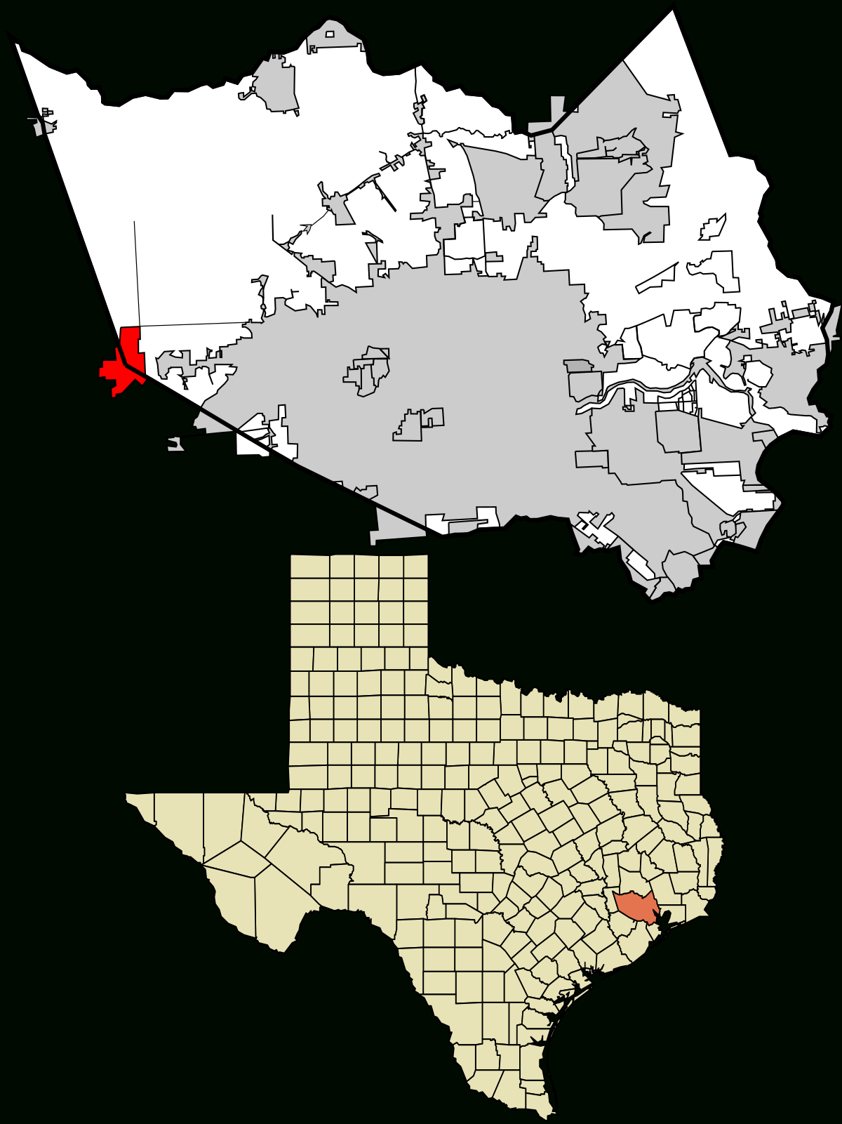 Katy, Texas - Wikipedia - Sealy Texas Map