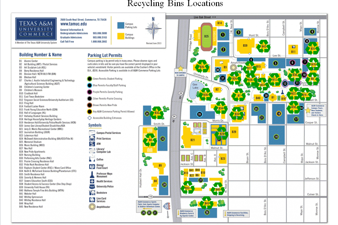 Keeping Campus Clean - Texas A&m University-Commerce - Texas A&m Housing Map