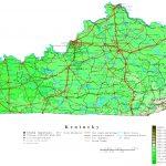 Kentucky Printable Map   Printable Map Of Bowling Green Ky