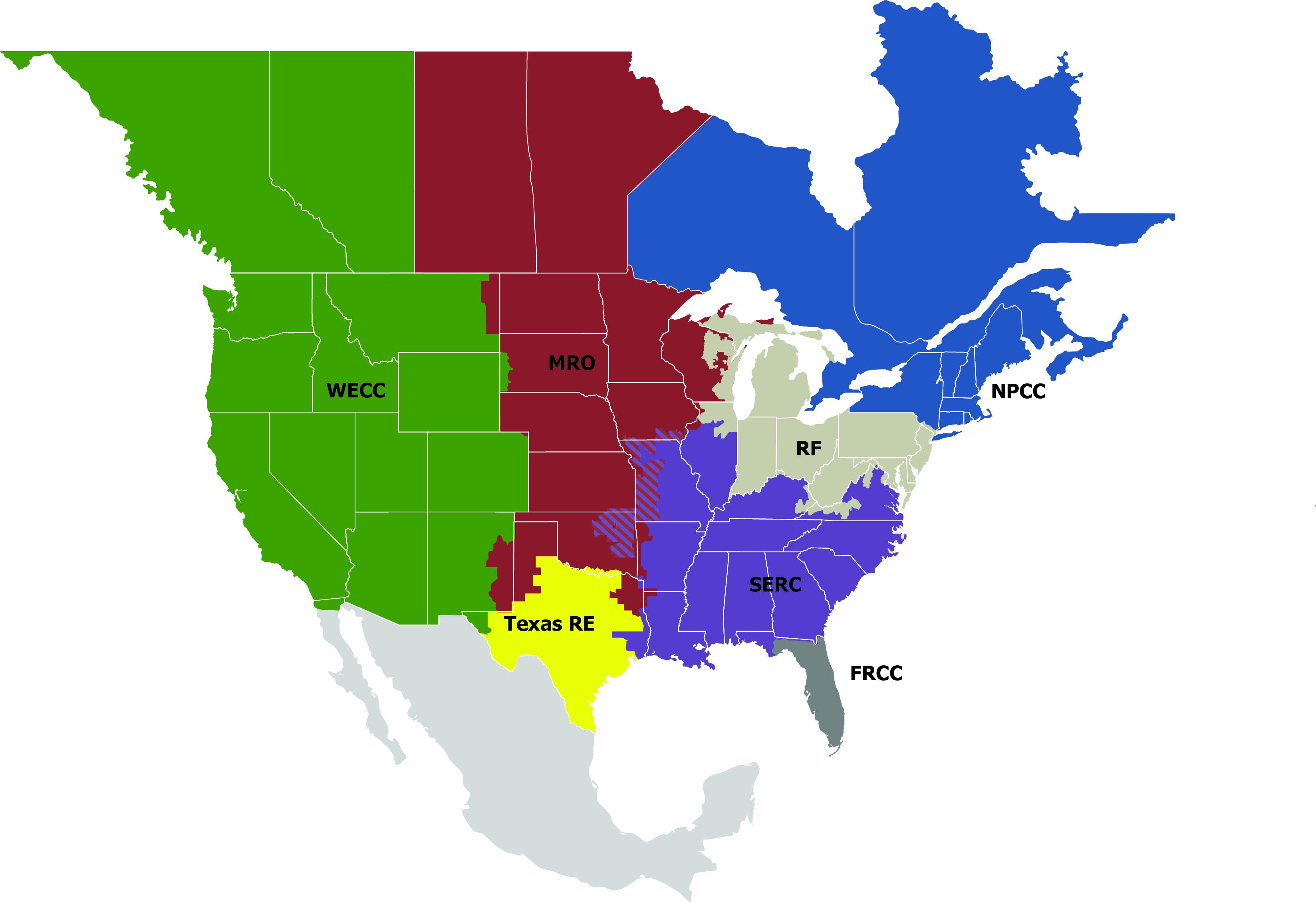 Key Players - Texas Utility Map