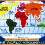 Kid Map Of World And Travel Information | Download Free Kid Map Of World   Children's Map Of The World Printable