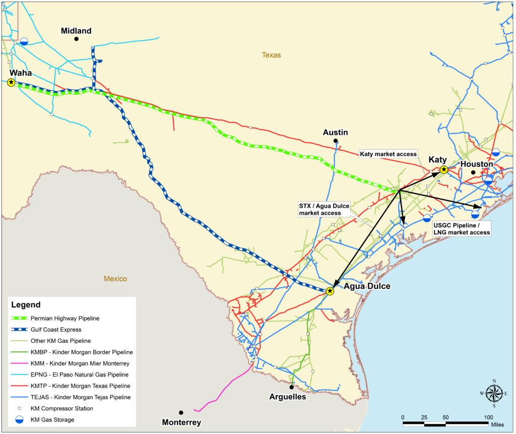 Kinder Morgan Pipeline Project Raising Concern In The Hill Country - Kinder Morgan Pipeline Map Texas