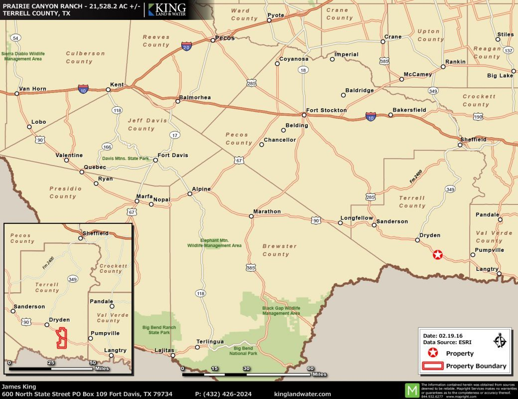 King Location Map Texas Ranch - King Ranch Texas Map