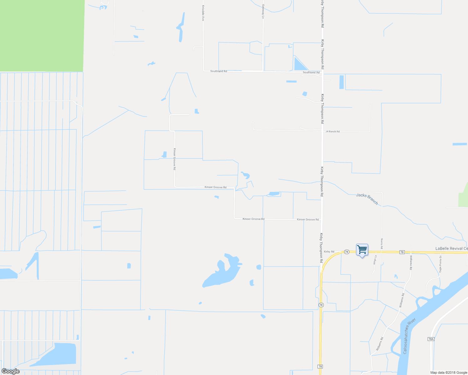 Kinser Groove Road, Labelle Fl - Walk Score - Labelle Florida Map
