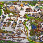 Knott's Berry Farm Maps Over The Years! Video #2   See Video #3 Its   Knotts Berry Farm Map California