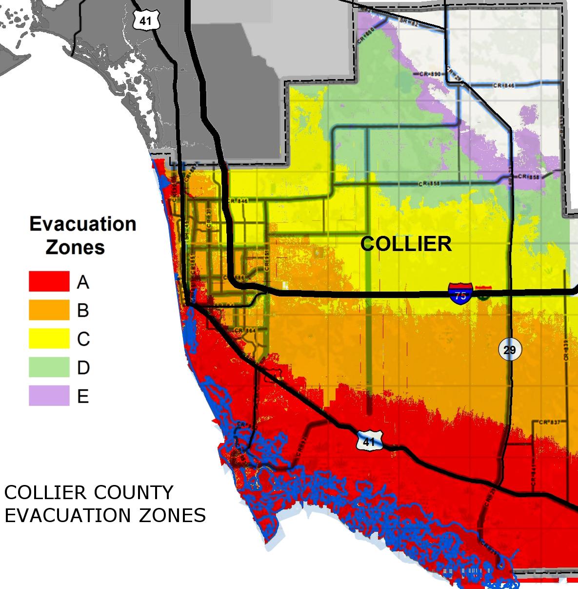 Know Your Hurricane Evacuation Zone | Wgcu News - Sarasota Florida Flood Zone Map