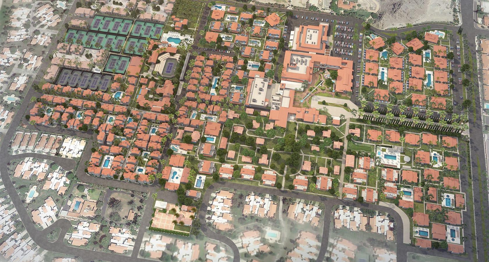 La Quinta | Resort Map - La Quinta California Map