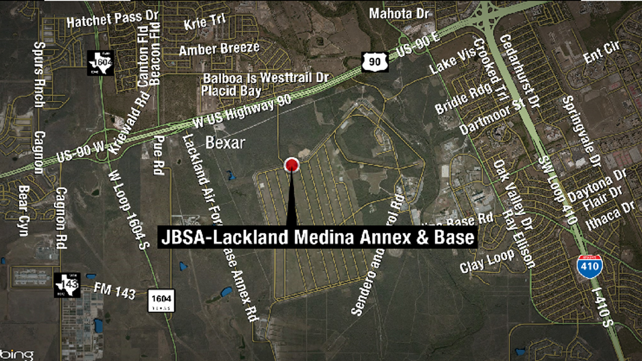Lackland Afb Shooting Location - Texas Hill Country - Lackland Texas Map