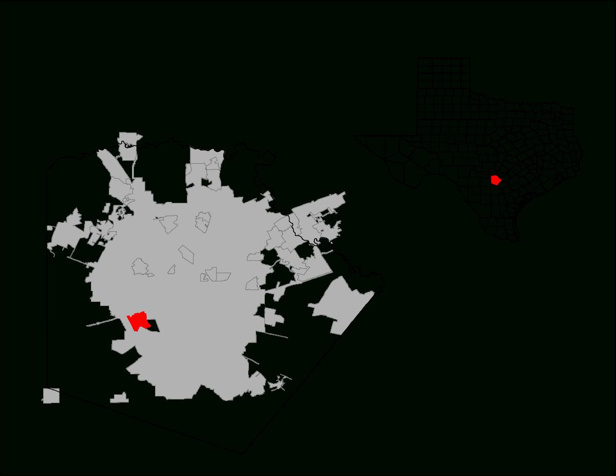 Lackland Air Force Base — Wikipédia - Lackland Texas Map
