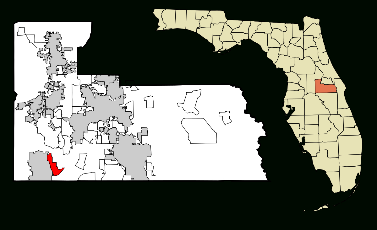 Lake Buena Vista, Florida - Wikipedia - Map Of Lake Buena Vista Florida Hotels