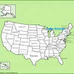 Lake George Location On The U.s. Map   Lake George Florida Map