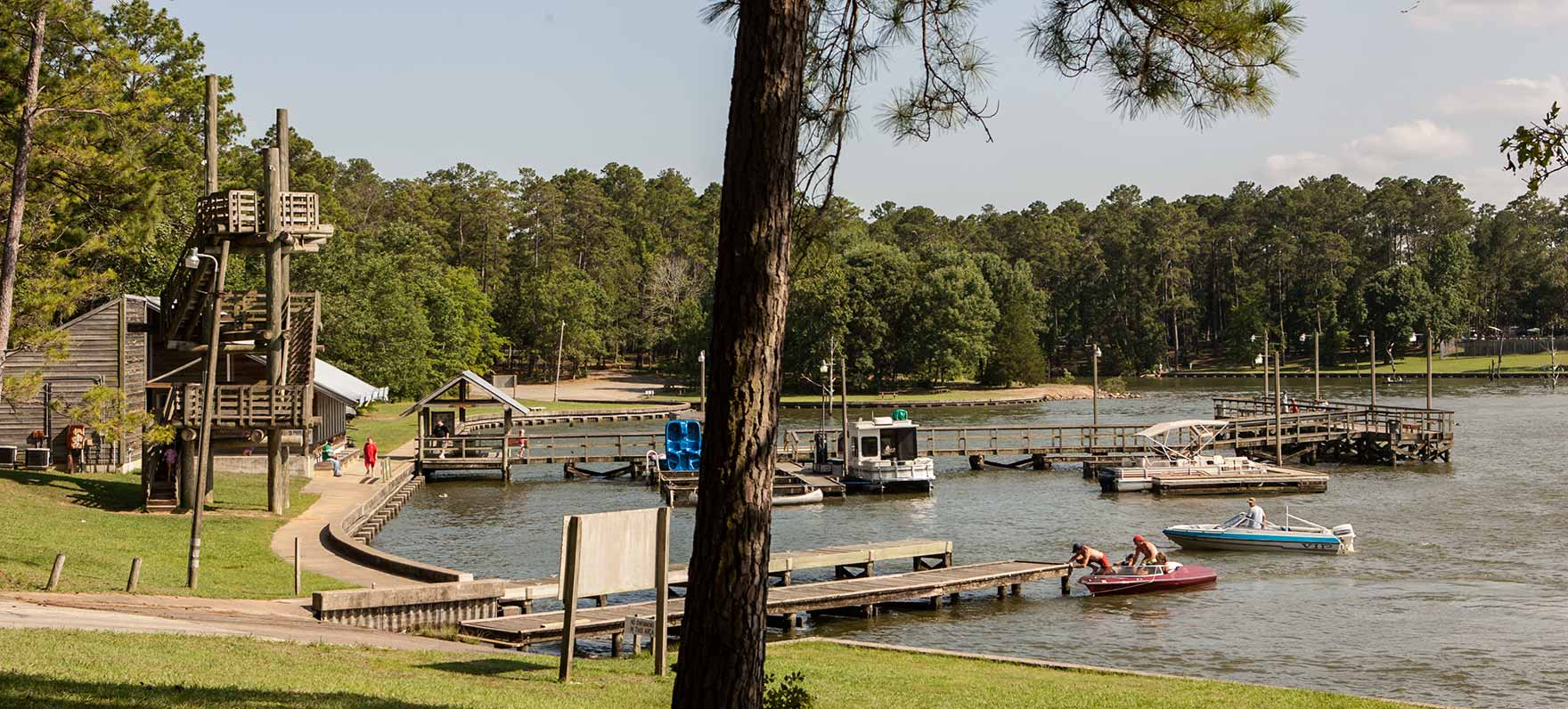 Lake Livingston State Park — Texas Parks & Wildlife Department - Map Of Lake Livingston Texas