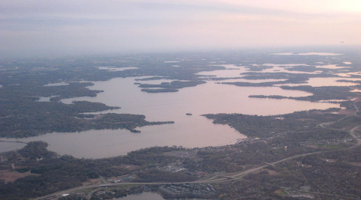 Lake Minnetonka - Wikipedia - Printable Lake Minnetonka Map