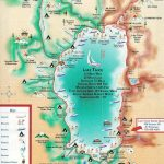 Lake Tahoe Map | California ~ Things To Do | Pinterest | Lake Tahoe   Map Of Lake Tahoe Area California
