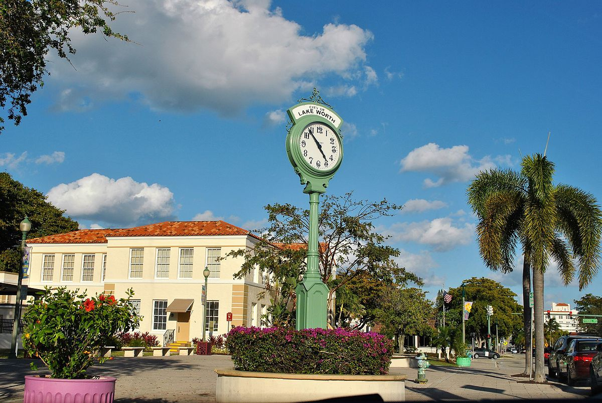 Lake Worth, Florida - Wikipedia - Lake Worth Florida Map