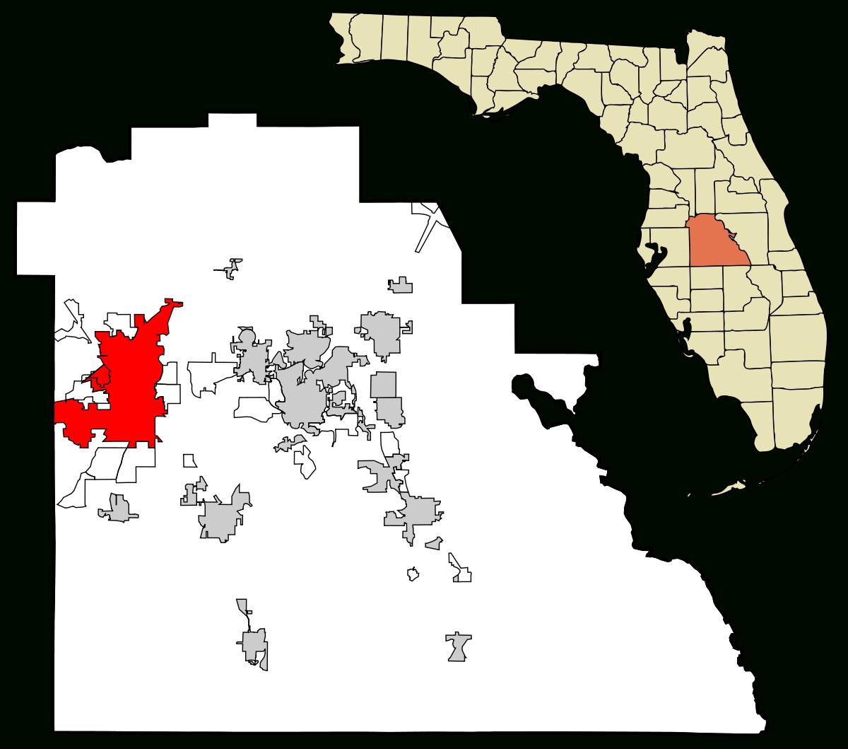 Lakeland, Florida - Wikipedia - Madison Florida Map