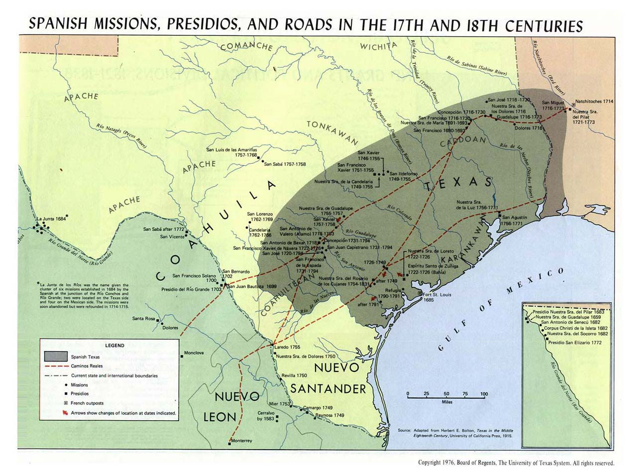Land Grants | The Handbook Of Texas Online| Texas State Historical - King Ranch Texas Map