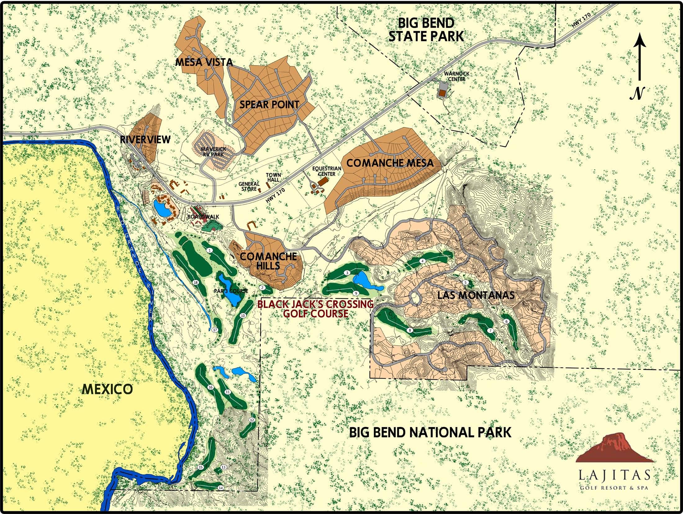 Land Use - Holmes Firm Pc - Lajitas Texas Map