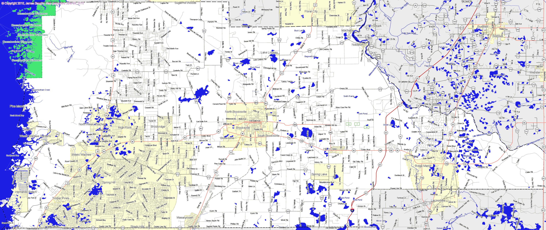 Landmarkhunter | Hernando County, Florida - Hernando Florida Map
