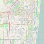 Large Detailed Map Of Boca Raton   Boca Florida Map