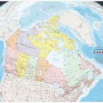 Large Detailed Map Of Canada With Cities And Towns   Printable Road Map Of Canada