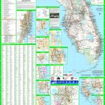 Large Detailed Map Of Florida With Cities And Towns   Shell Point Florida Map