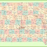 Large Detailed Map Of Iowa With Cities And Towns   Printable Map Of Iowa