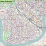Large Detailed Map Of New Orleans   Printable Map Of New Orleans
