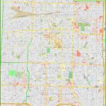 Large Detailed Map Of Springfield (Missouri)   Printable Map Of Springfield Mo