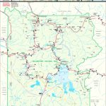 Large Detailed Map Of Yellowstone   Printable Map Of Yellowstone