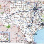 Large Detailed Roads And Highways Map Of Texas State With All Cities – Map Of Texas Roads And Cities