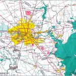 Large Houston Maps For Free Download And Print | High Resolution And   Street Map Of Houston Texas
