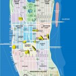 Large Manhattan Maps For Free Download And Print | High Resolution   Printable Tourist Map Of Manhattan